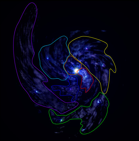 Galaxy Regions
